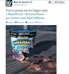 Shark Week Ben & Jerry's