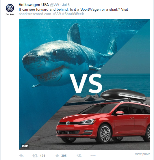 Shark Week Volkswagen